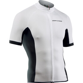 Northwave Force Fietsshirt korte mouwen Heren wit